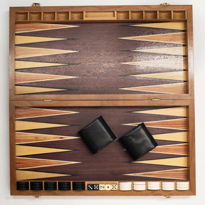 Royal French Backgammon Set