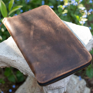 Leather Case with Custom Journal