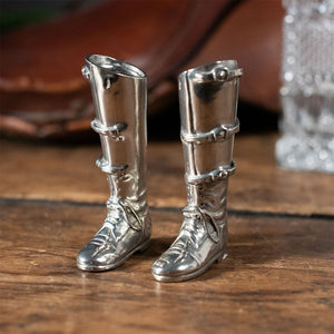 Riding Boot Salt & Pepper