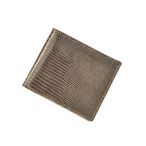 Classic Wallet in Brown Lizard