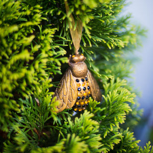 French Bee Ornament