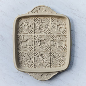 American Butter Art Shortbread Pan