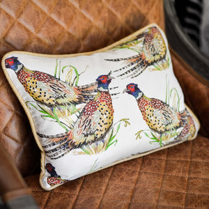 Pheasant Pillow, The Maria Pace Collection for the Wine & Country Shop