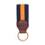 Navy/Orange-Grosgrain-Key-Fob