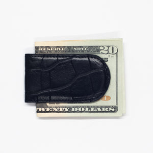 Magnetic Money Clip in Alligator