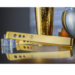 24k Gold-Plated Ice Tongs