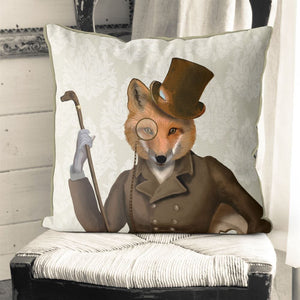 Gentleman Fox Pillow