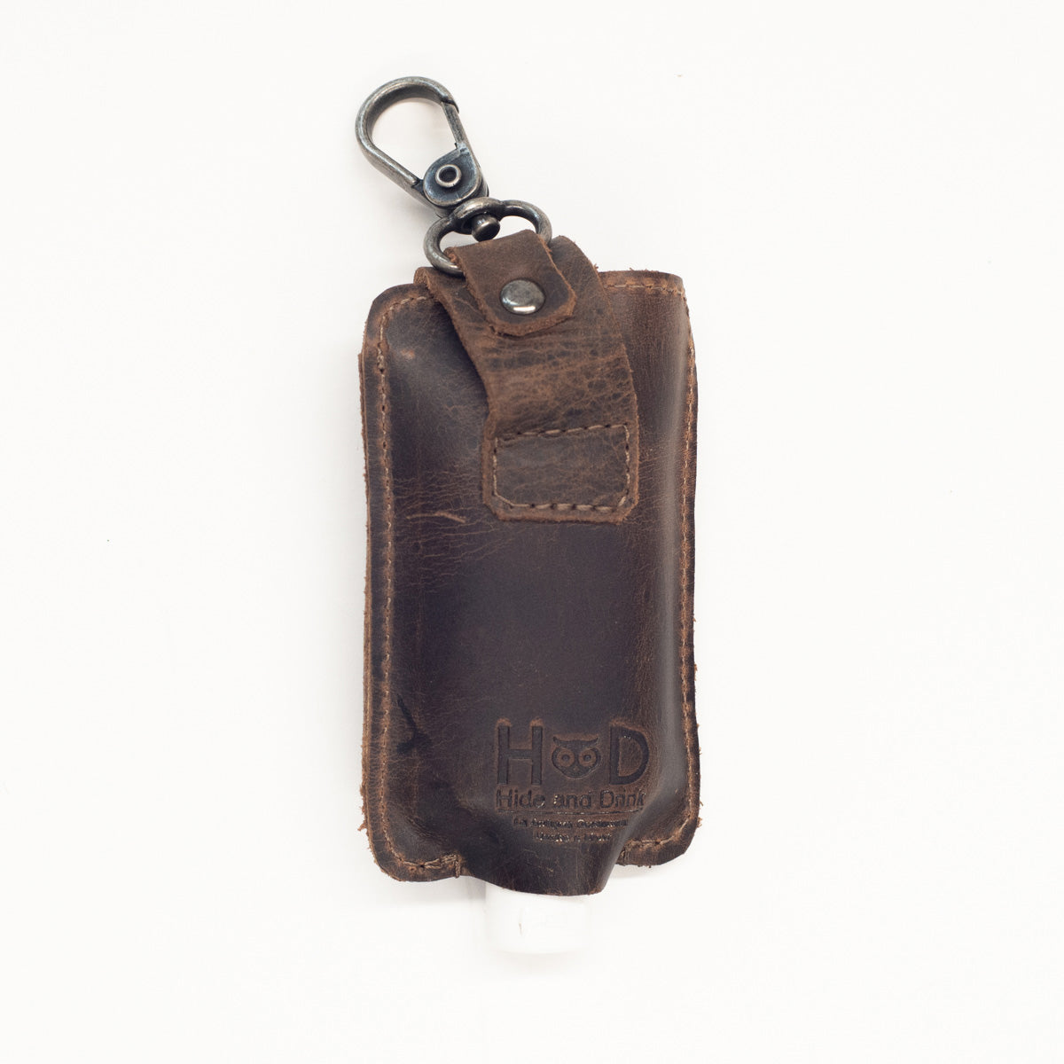 Leather Hand Sanitizer Holder