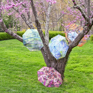 Monet's Garden Path Umbrella