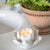 Lotus Tea Light  - white