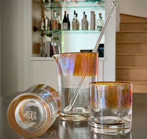 The Aristocrat Handmade Cocktail Mixing Glass