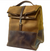 Canvas & Leather Insulated Lunch Bag