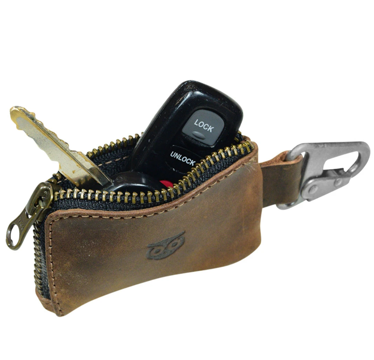 Leather Car Key Holder