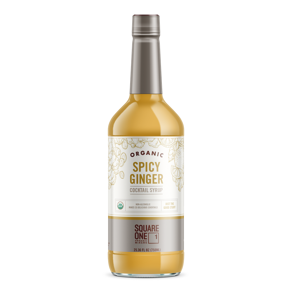 Organic Spicy Ginger Syrup