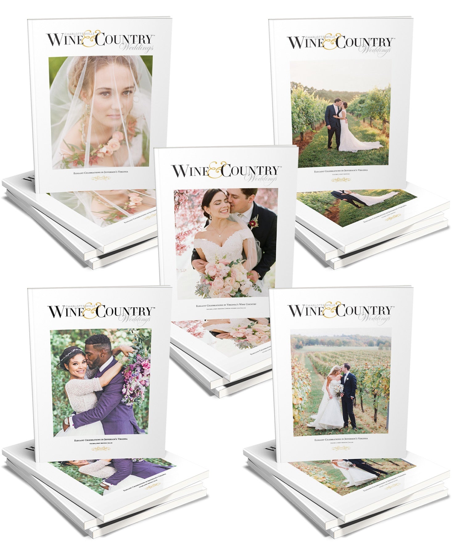W&C Weddings PRINT Collection Volumes 1 - 5