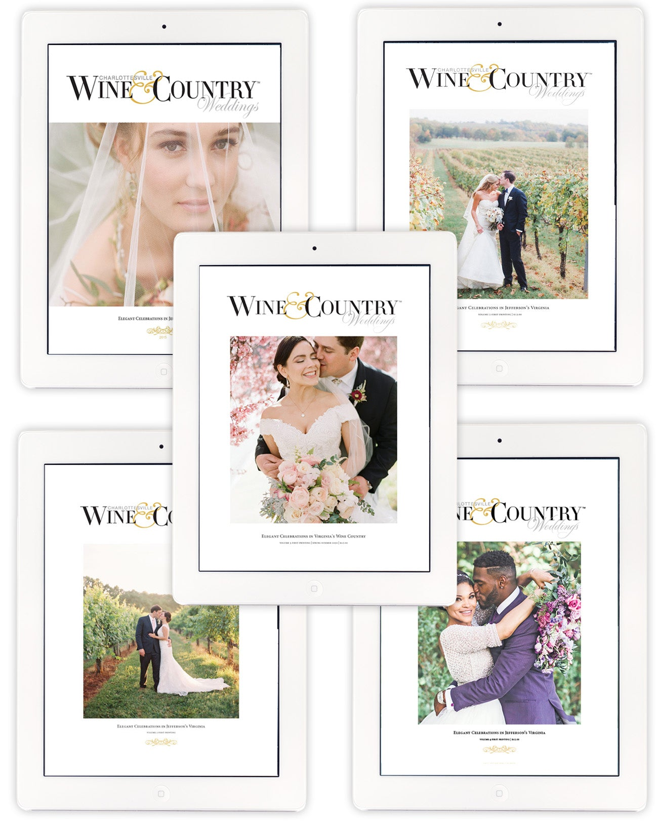W&C Weddings DIGITAL Collection Volumes 1 - 5