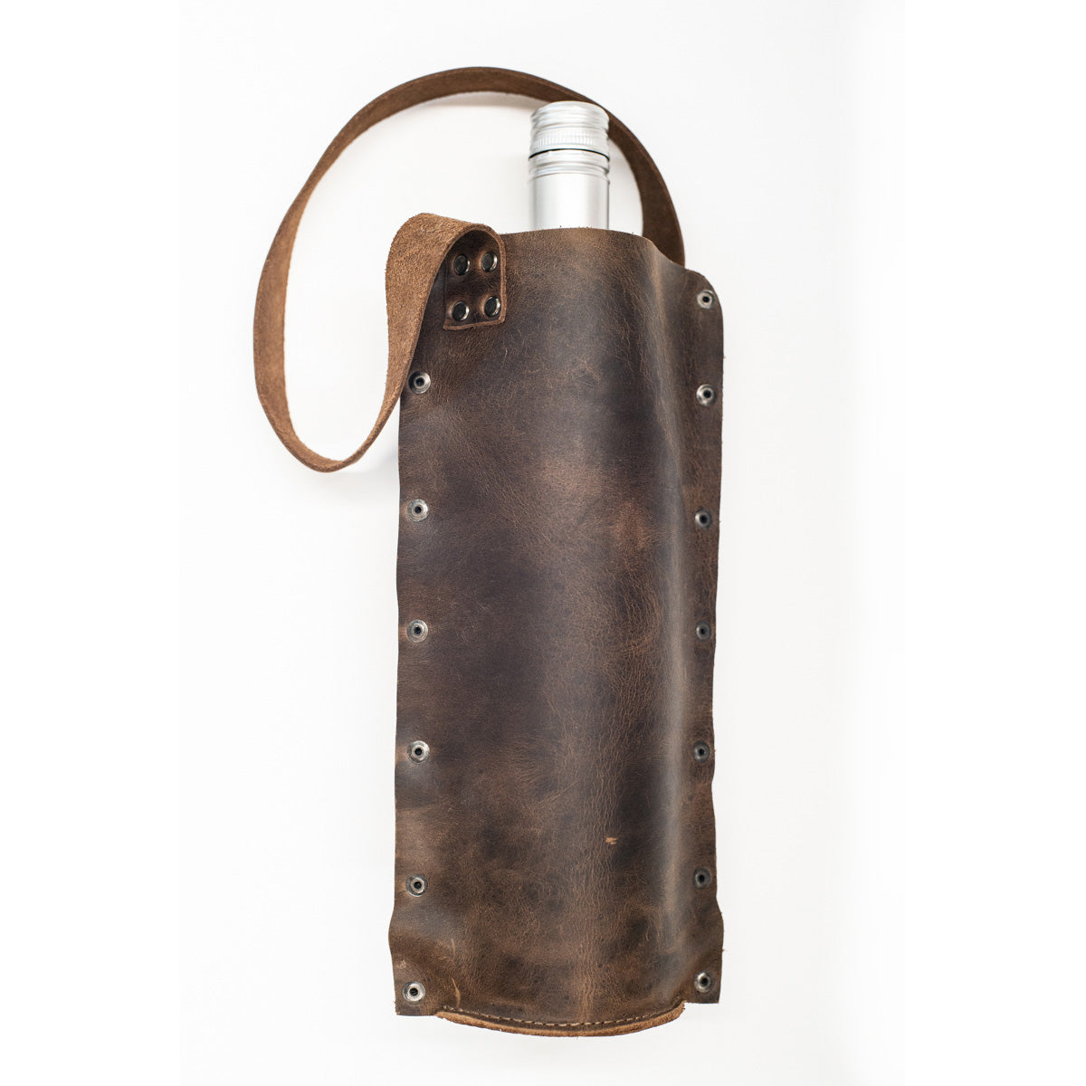 Leather Rustic Wine Carrier