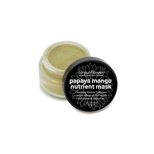 Papaya Mango Nutrient Dense Mask Set