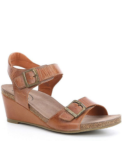 Buckle Up Wedge Sandal