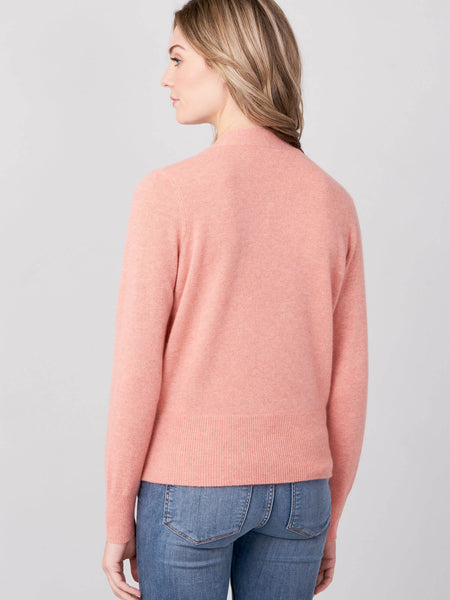 Cashmere Sweater With Wrapped Front