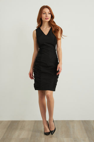 Joseph Ribkoff Shirred Taffeta Dress 211114