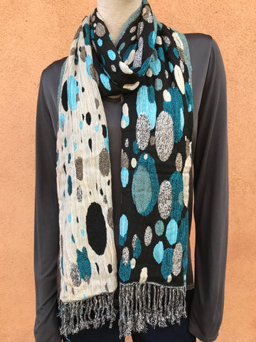 Silk blend reversible Scarf