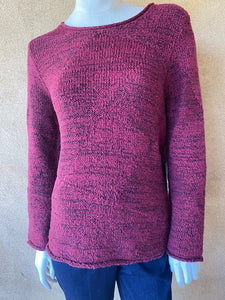 Cotton Mixed Stitch Pullover