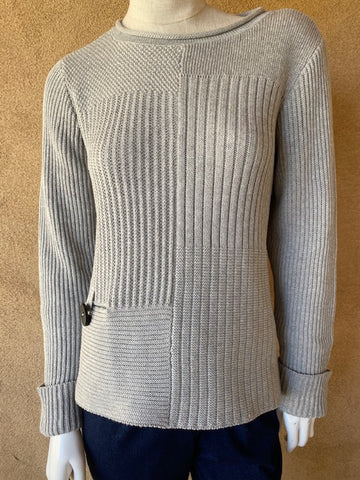 Cotton heather mix pullover