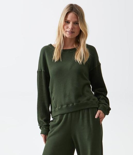 Ezra Cropped Sweatshirt