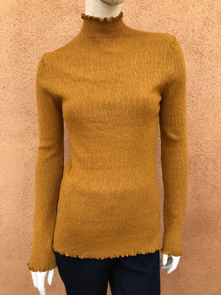Corded Pullover Sweater