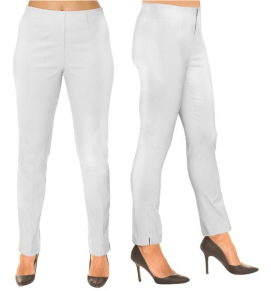 Lize Straight Pant White