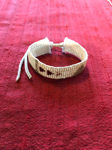 Narrow Pembetatu Warrior Bracelet