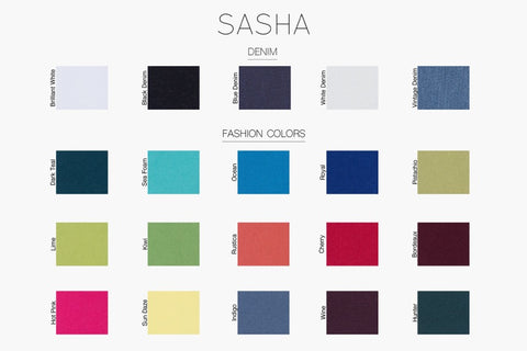 Sasha Pant (Summer Colors)