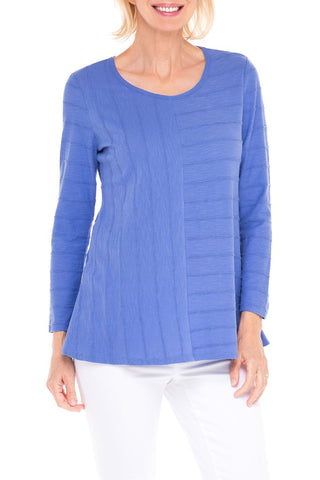 Cotton Tuck Pleat Easy Tunic