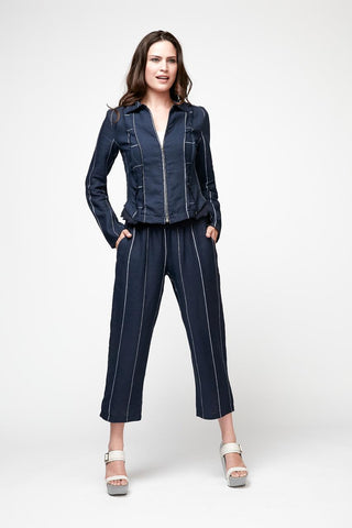 Stripe Magic Capri