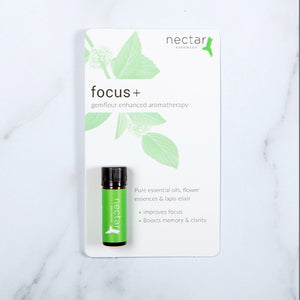 Focus+gemfleur enhanced aromatherapy