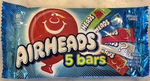 Airheads 5 pack - Assorted Flavors