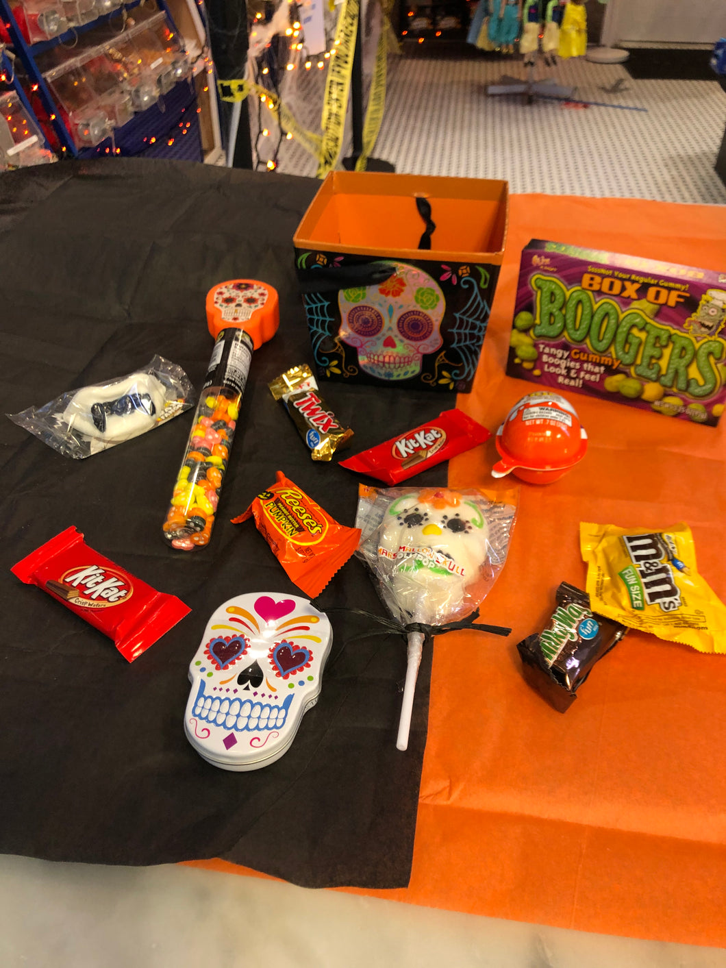 Day of the Dead - Halloween Candy Box