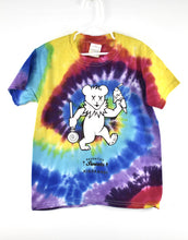 Load image into Gallery viewer, Kidzkandi X Saugatuck Sweet Bear Tie Dye Tee
