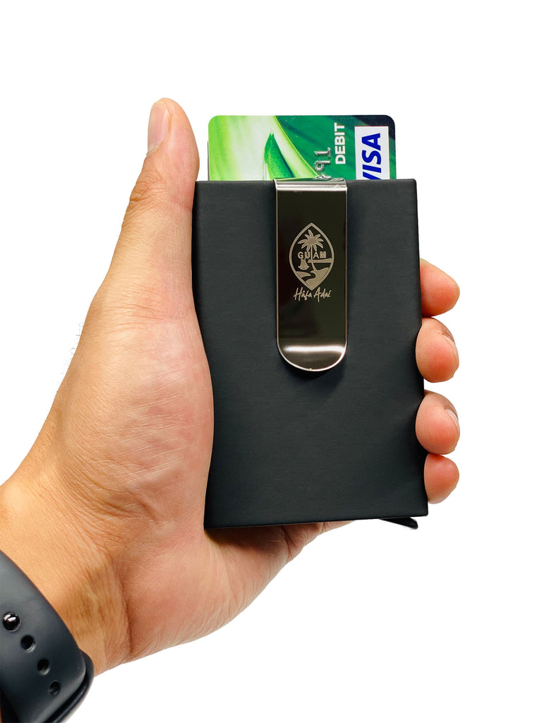 CC Holder/Money Clip Black