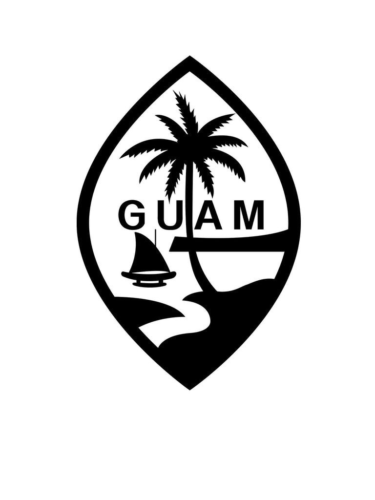 Guam Seal Sticker