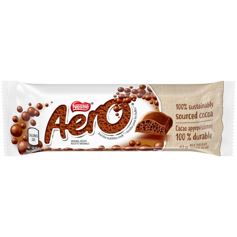 NESTLÉ® AERO® Milk Chocolate Bar