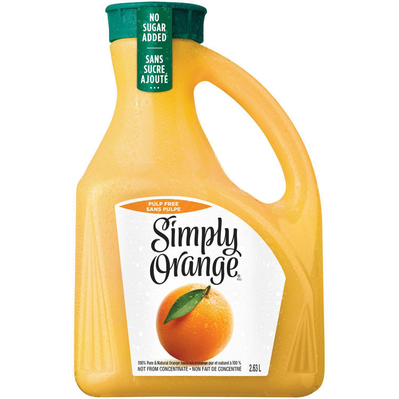 Simply Orange® Pulp Free Orange Juice 2.63L