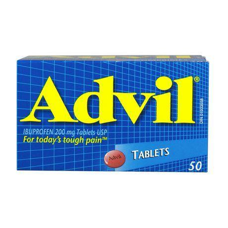 Advil Tablets 50's