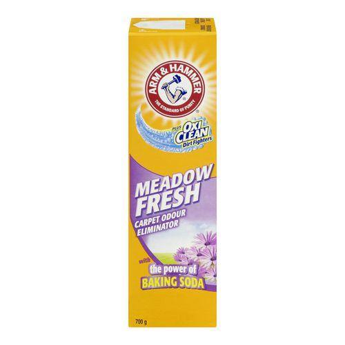 ARM & HAMMER® plus OxiClean® Meadow Fresh Carpet Odour Eliminator 700 g