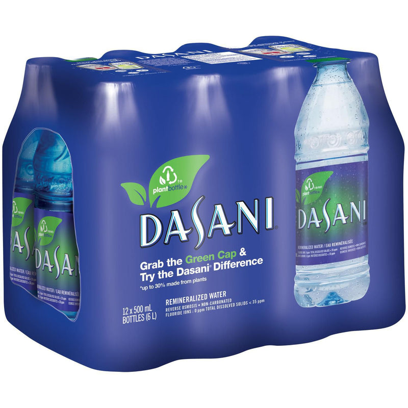 DASANI® water 500mL Bottles, 12 Pack