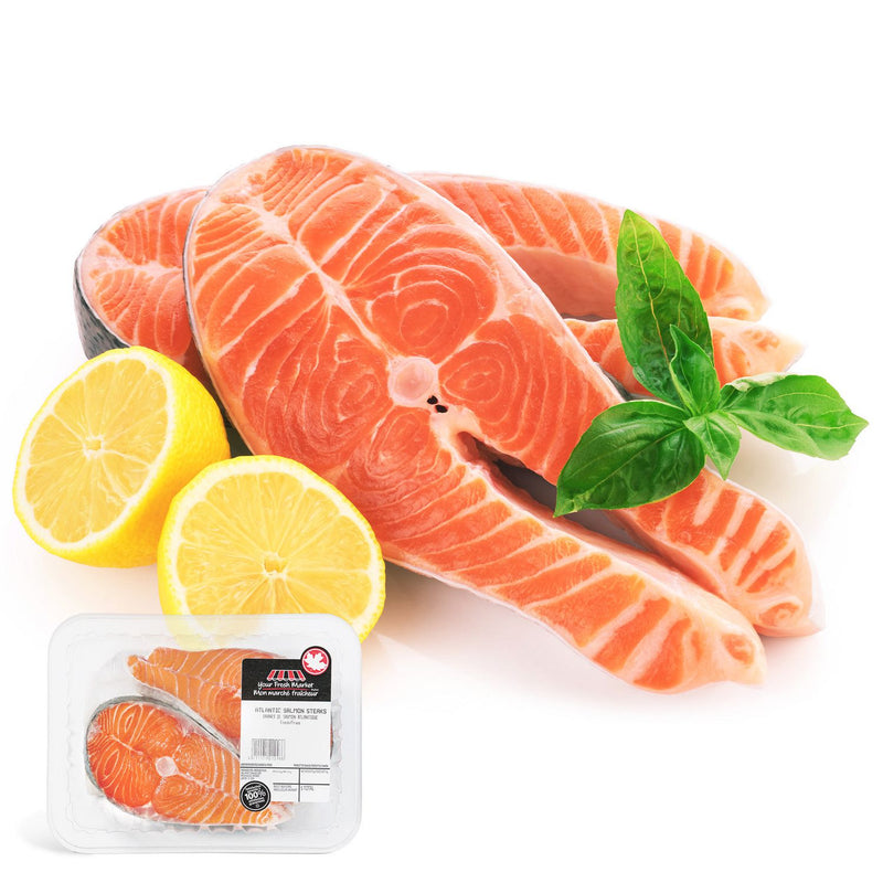 Your Fresh Market Atlantic Salmon Steaks 0.3Kg