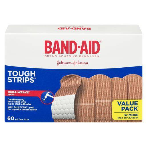 Band-Aid Tough-Strips Adhesive Bandages
