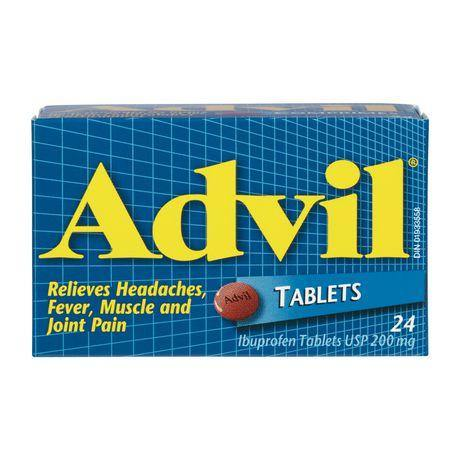 Advil Tablets 24's