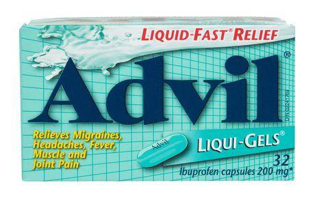 Advil Liqui Gels 32's